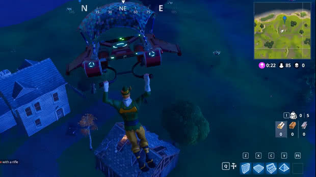 Casa no Norte Fortnite