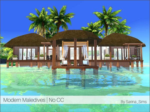 Casa na praia The Sims 4