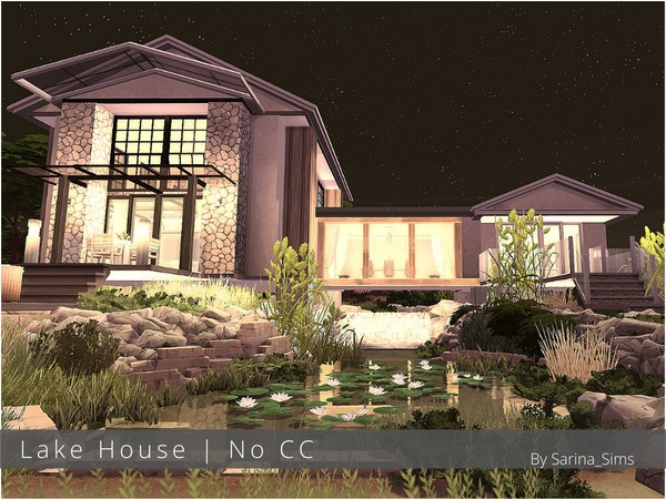 Casa no lago the sims 4