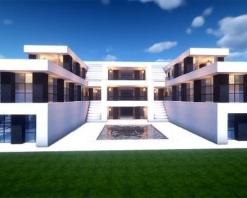 10 casas modernas para construir em Minecraft!