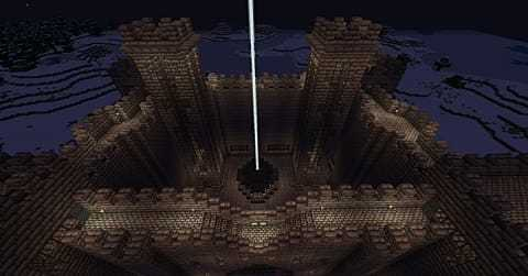 Castelo mediavel simples minecraft