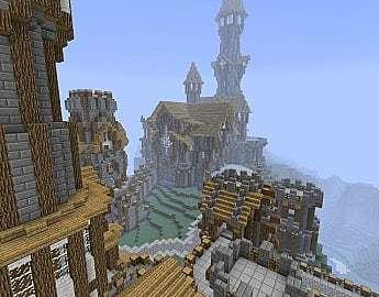 castelo na montanha