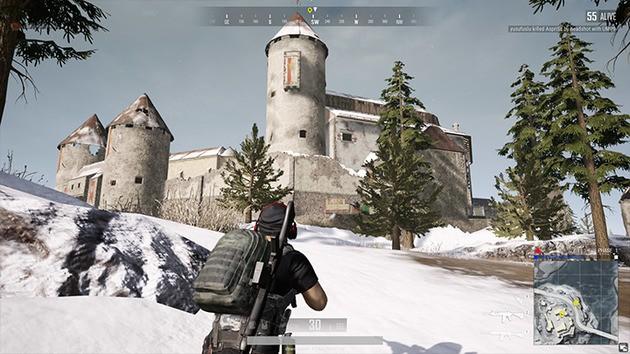 Castle Vikendi PUBG