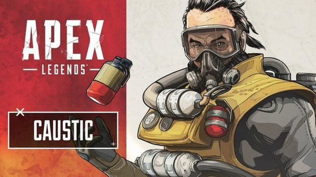 Caustic - Apex Legends
