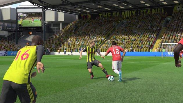 Cercar e roubar a bola FIFA 19