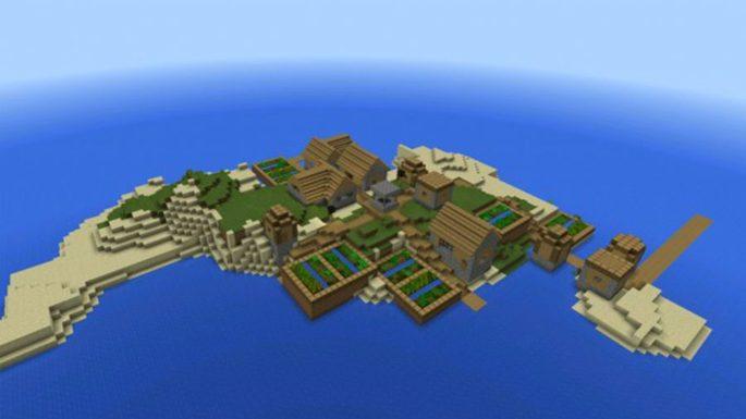 cidade na ilha seed