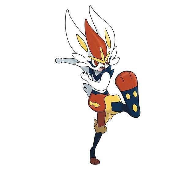 cinderace pokemon sword and shield