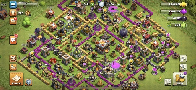 Clash of Clans android multiplayer