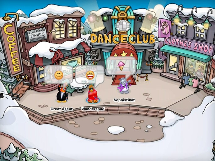 Club Penguin Tipo Habbo