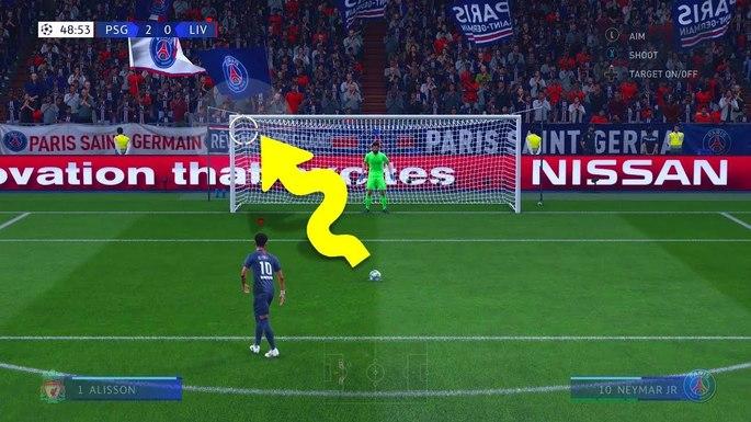 Cobrança de pênalti FIFA 20