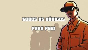 Códigos de GTA San Andreas para PS2: carros, armas, dinheiro, vida infinita e outros