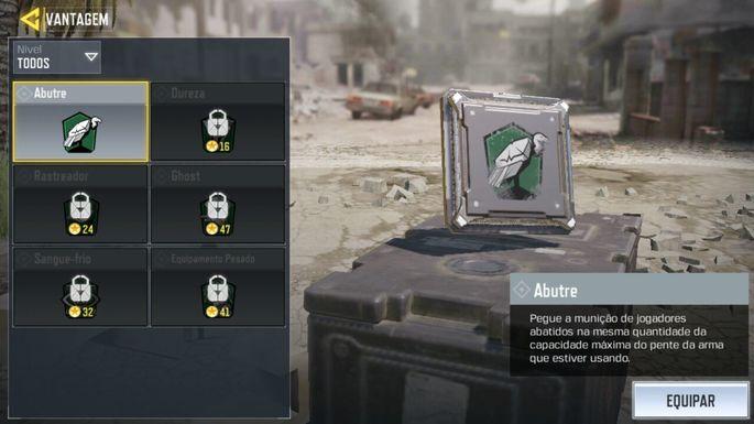 Call of Duty Mobile - MME - Vantagem Abutre