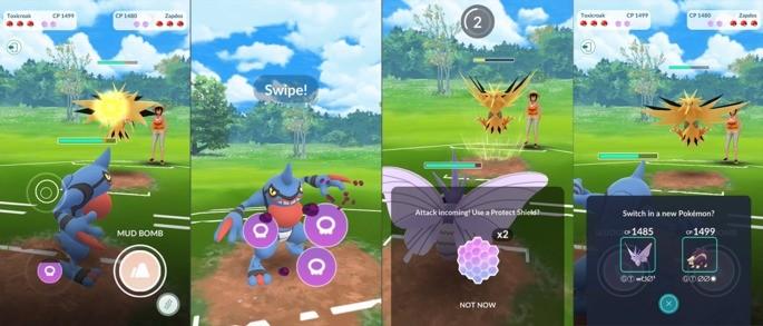 Como batalhar - Pokémon GO
