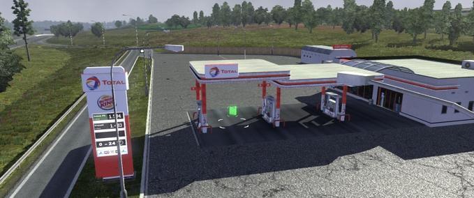 Combustível gratuito mod euro truck