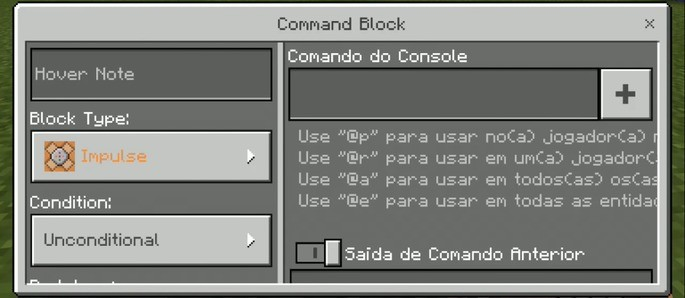Command Block - Minecraft