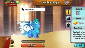 Dragão City: saiba como fazer o Dragão Fogo Frio!