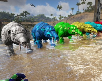 Como fazer todas as tintas (Corantes) no ARK: Survival Evolved!
