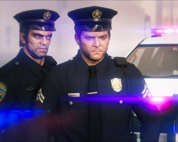 Como ser policial no GTA 5 sem usar cheats ou mods!