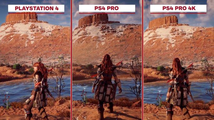 Comparação PS4 e PS4 Pro