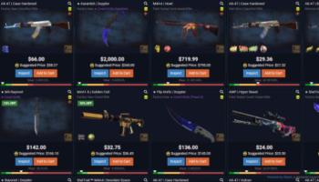 Os 4 melhores sites para comprar skins do CS:GO