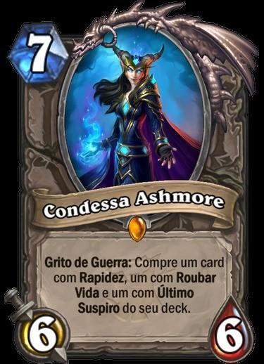 Condessa Ashmore - Hearthstone