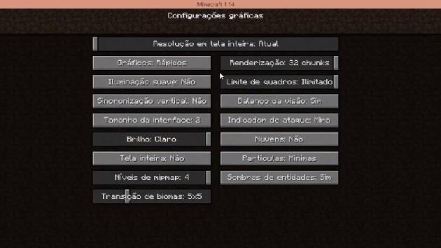 Gráficos Minecraft