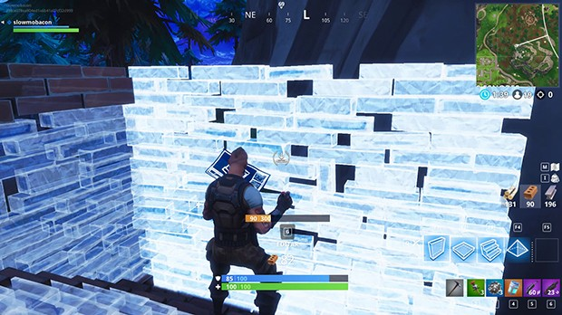 Construir rapido Fortnite
