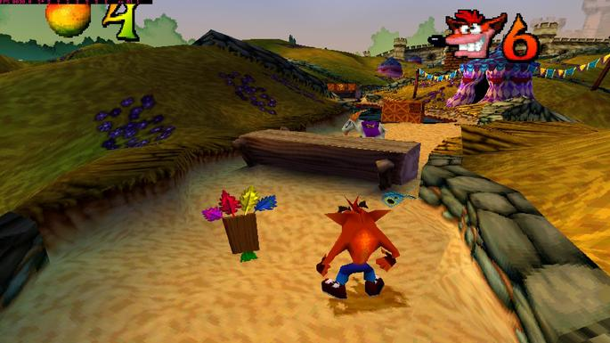 Crash Bandicoot: Warped PS1