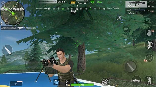 Armamento em Crossfire