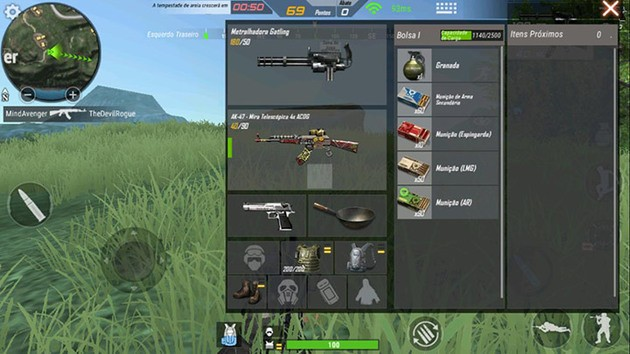 Crossfire equipamento