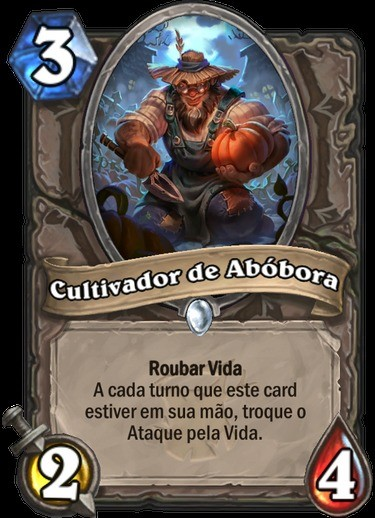 Cultivador de Abóbora - Hearthstone