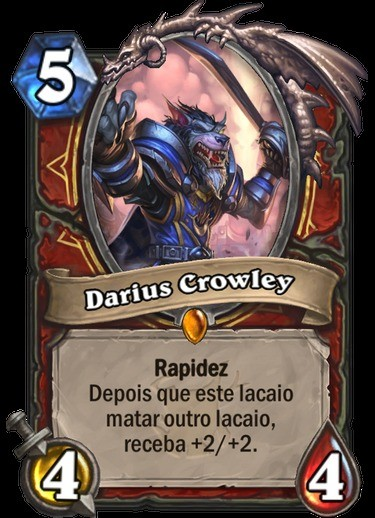Darius Crowley - Hearthstone