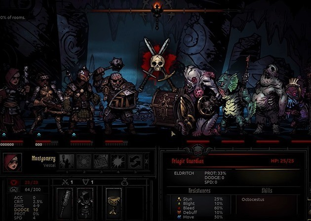 Jogo Darkest Dungeon