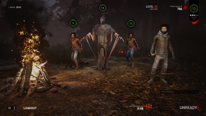 Dead by Daylight personagens