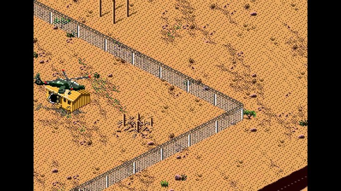 Desert Strike: Return to the Golf