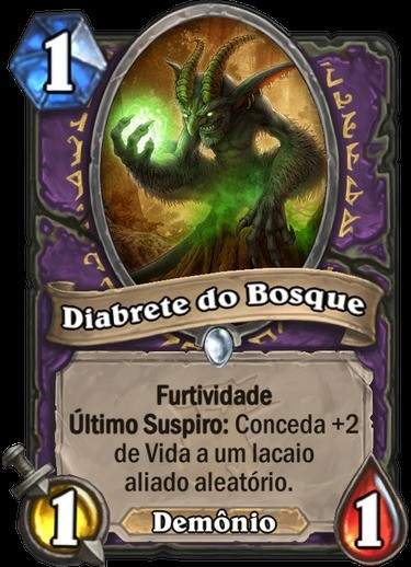 Diabrete do Bosque - Hearthstone