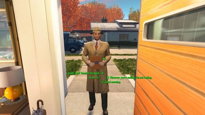 Diálogos Fallout 4 mod