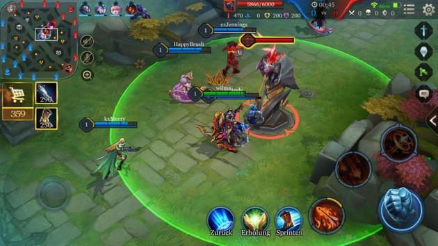 Dicas de ataque em Arena of Valor