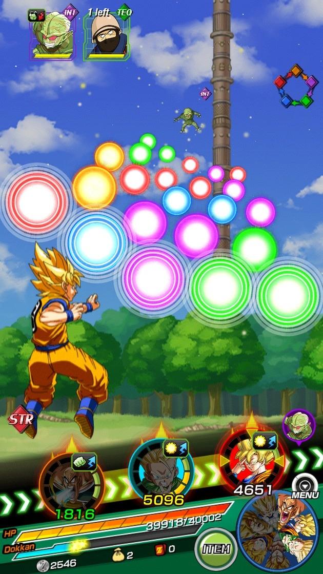 dicas de batalha para dragon ball z dokkan battle