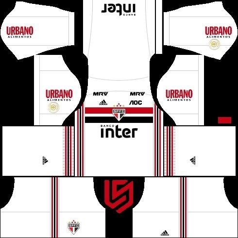 Dream League Soccer São Paulo kit
