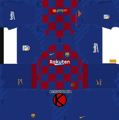 DLS Uniforme Barcelona Titular