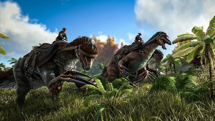 domar dinossauros ark