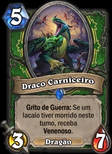 Draco Carniceiro - Hearthstone