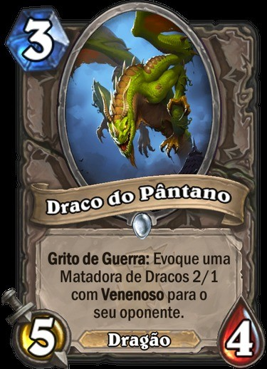 Draco do Pântano - Hearthstone