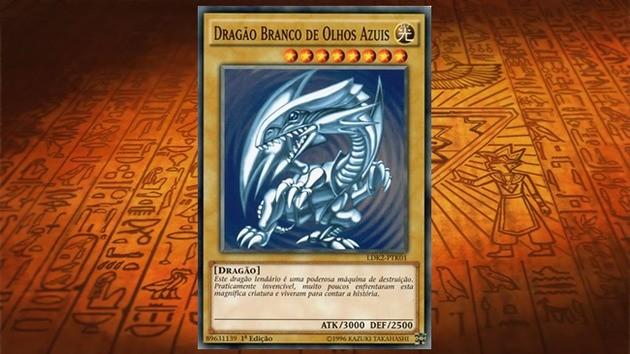 Dragão Branco de Olhos Azuis - Duel Links