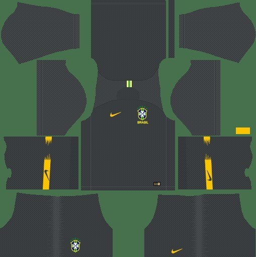 Dream League Soccer kit dls brasil goleiro reserva