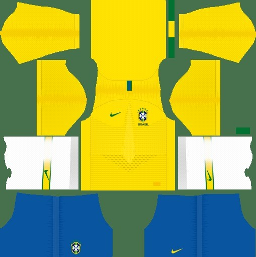Brasil Dream League Soccer kit dls