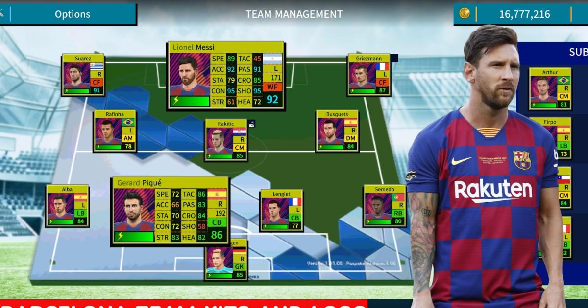 Dream League Soccer: Todos Os Kits Do Barcelona