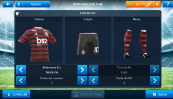 Dream League Soccer: kits atualizados do Flamengo para 2020!