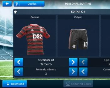 Dream League Soccer: kits atualizados do Flamengo para 2020!